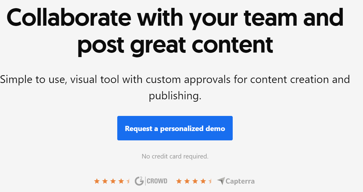 ContentCal design platform
