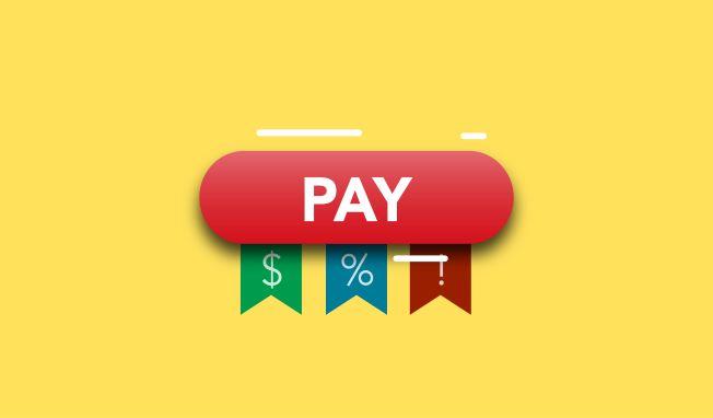 Pay rise symbol